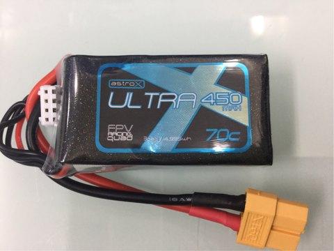 AstroX Ultra 450mAh 3S 70C Lipo