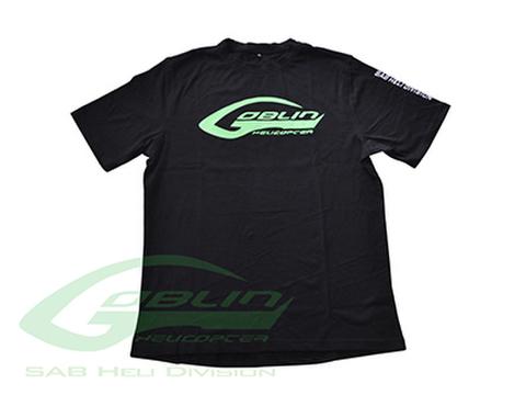 SAB HELI DIVISION New Black T-shirt - Size L [HM025-L]
