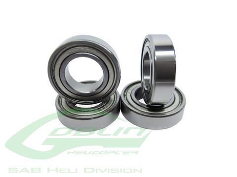HC425-S - Bearing Ø12 X Ø18 X 4 - Goblin Black Nitro