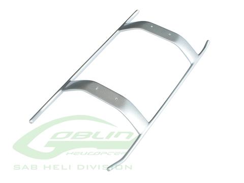 H0725-S - Composite Landing Gear Silver - Goblin Urukay Carbon