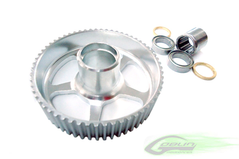 New Upgrade Tripple Bearing 60T Pulley - Goblin 630/700/770 [H0104-S]