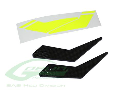 H0699-S - Carbon Fiber Landing Gear - Goblin Black Thunder