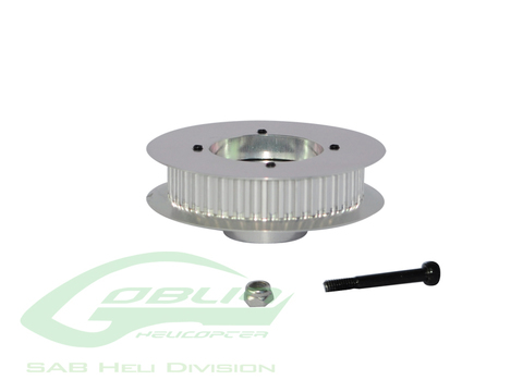 Aluminum Front Tail Pulley - Goblin 770/Goblin 700 Competition [H0172-S]