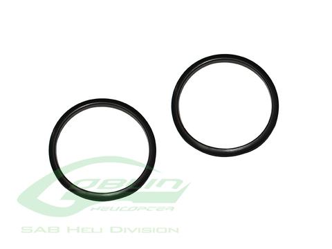 HA055 - SAB Canopy Grommet - Goblin Black Nitro