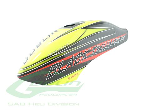H0701-S - Canomod Airbrush Canopy - Goblin Black Thunder