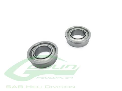 HC418-S - ABEC-5 Flanged bearing Ø8 x Ø12 x 3,5