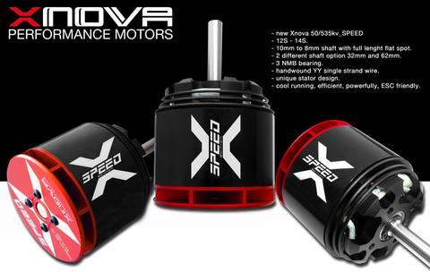 X-NOVA -SPEED 50/540KV