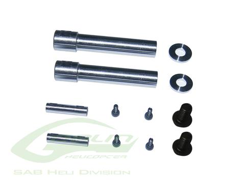 Steel Spindle Shaft HPS3 - Goblin 500/570 H0471-S