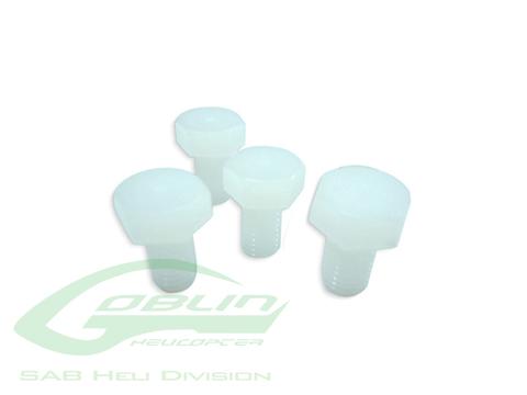 HC164-S - Nylon Screw M8x14 (4pcs) - Goblin 500/570/630/700/770