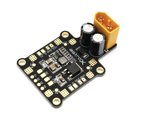 AstroX 5V/12V BEC with ESC signal PDB-PB (35A x 4)