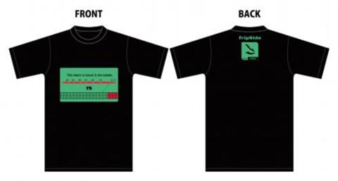 fripSide Tシャツ【Peak Level】 2014.1.25リスアニ!LIVE-4初出し商品