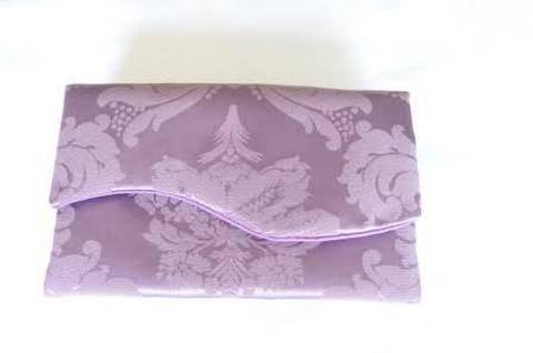 お財布のお布団【パープル】