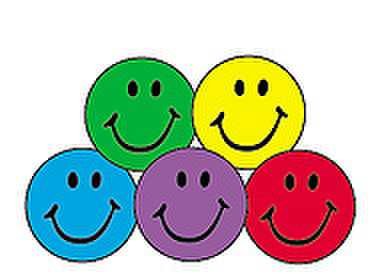 colorful smiles sticker