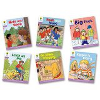 ORT stage 1+ First Sentences - Big Book pack with CD
