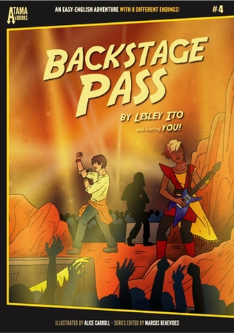 Atama-ii Books: #4 Backstage Pass