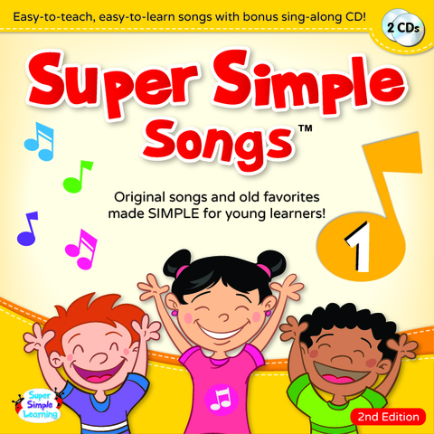 Super Simple Songs CD 1(第2版)