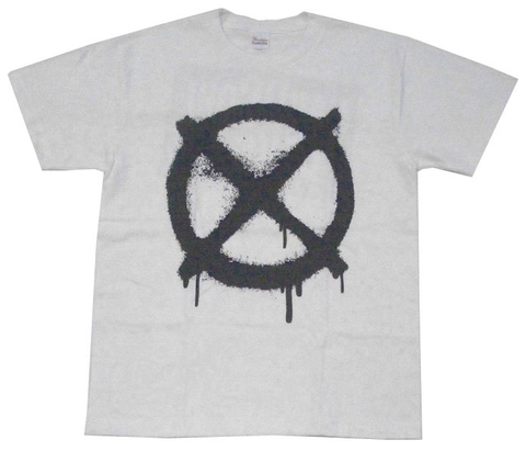 CIRCLE CROSS Tee WHT