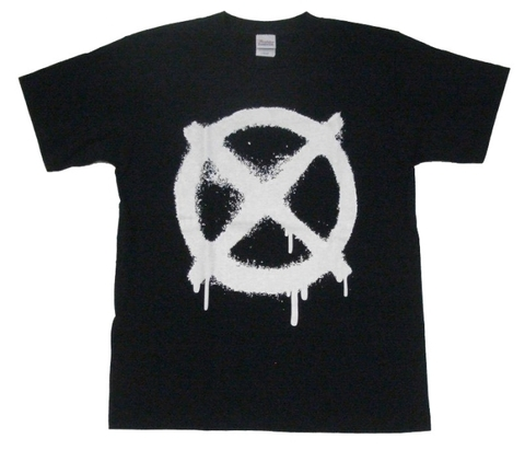 CIRCLE CROSS Tee BLK