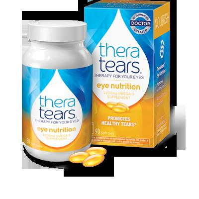 Theratears ドライアイに効く治療カプセル | Eye Nutrition 90 capsle