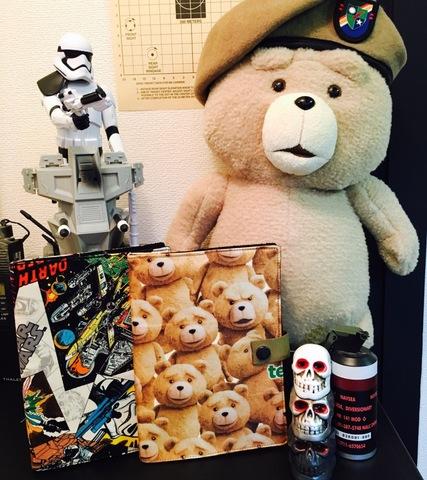 【数量限定】 ted&star warsパッチブック