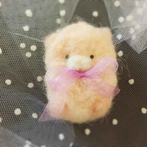 Toy bear ブローチ2