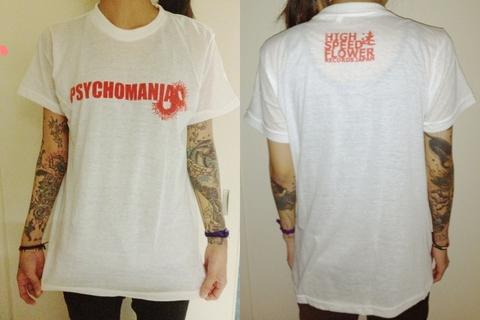 PSYCHOMANIA オリジナルTシャツ β版