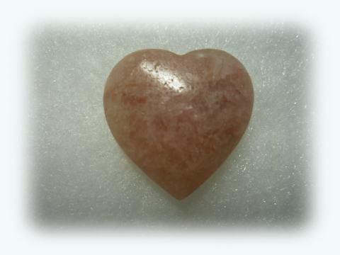 Australian Kunzite Heart 1