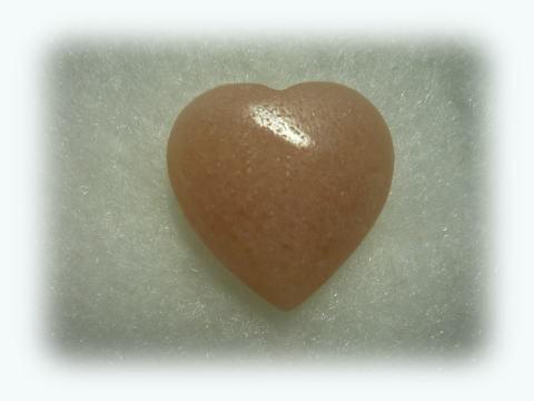 Australian Kunzite Heart 2