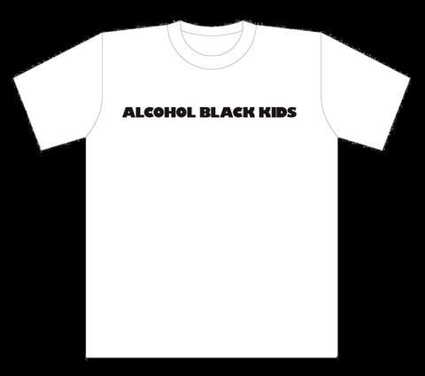 ALCOHOL BLACK KIDS T-Shits WHITE