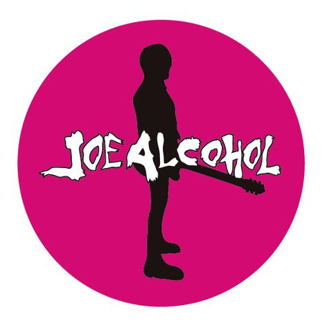 JOE ALCOHOL BADGE PINK(直径57mm)