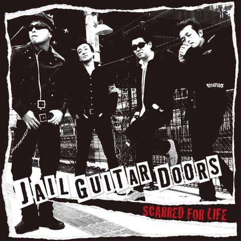 特典付「JAIL GUITAR DOORS」SCARRED FOR LIFE CD