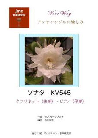 モーツアルト ソナタ KV545 (ピアノ・Cl)