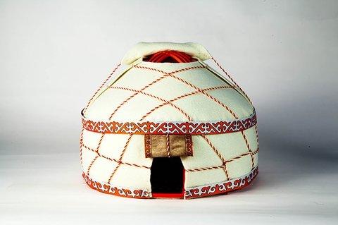 ユニユルト Uni Yurt 遊牧民ユルタの模型