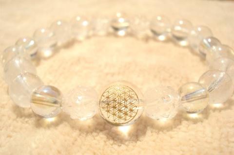 フラワーオブライフ・サチャロカアゼツ・ヒマラヤ水晶のブレス