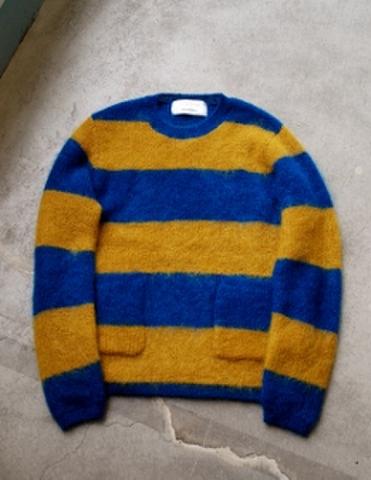 """Mohair sweater """"Gecko"""""""