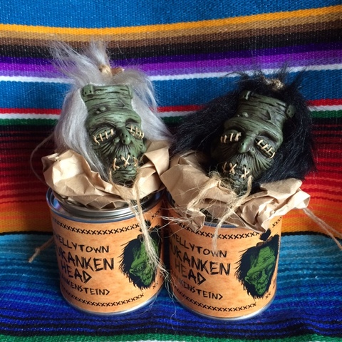 ☆SHRUNKEN HEAD  CAN〈FRANKEN〉☆