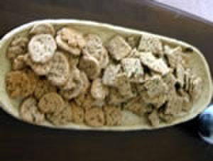 ゴボウとキノコのクッキー(15g)