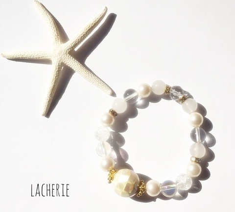 Sweet Serise... Shell White Pearl Aura BR
