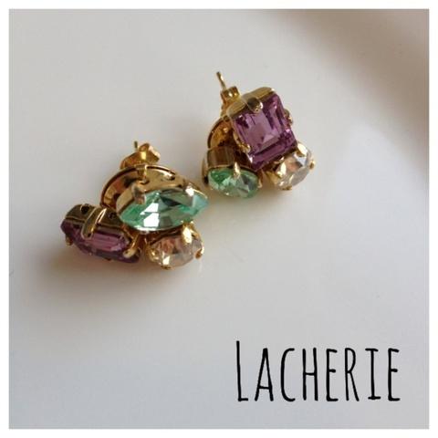 Jewel Luxury PI (Green×LightPurple)