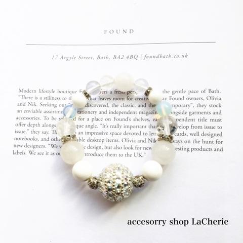 WHITE Bijou Silver BR
