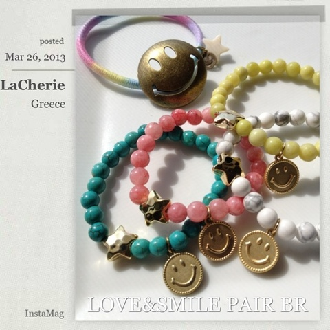 LOVE MOMMY★SMILE PAIR BR★
