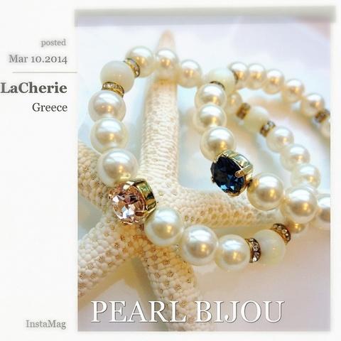 Simple Serise...「One Point  Bijou Pearl BR」