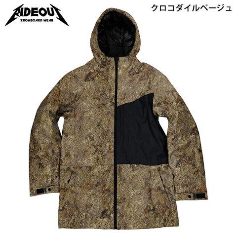 RIDE OUT ライドアウト Dragon Jacket(RSW5005) -ドラゴンJK