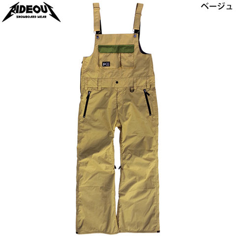 RIDE OUT ライドアウト Dragon Pants(RSW9495) ドラゴンパンツ(ビブパンツ)