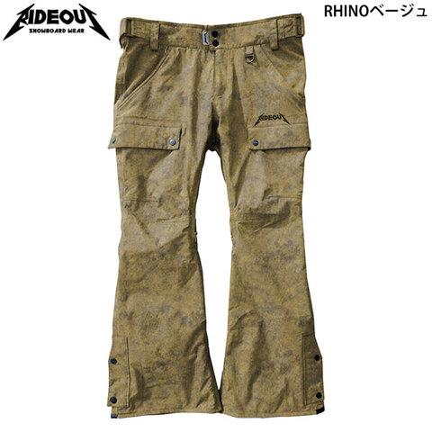 RIDE OUT ライドアウト Phantom Pants(RSW9502) -ファントムパンツ