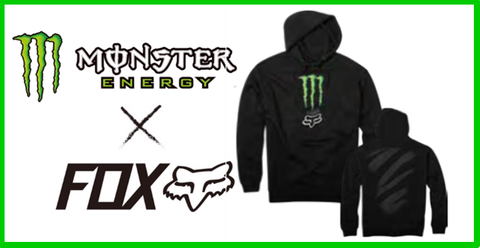 【MONSTER ENERGY×FOX】MONSTER ZEBRA PULLOVER
