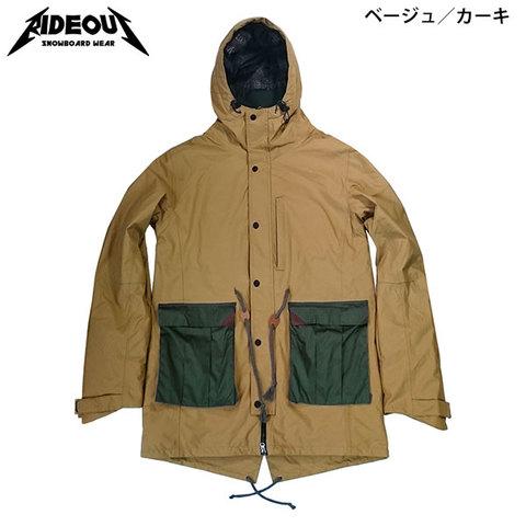 RIDE OUT ライドアウト Brave Jacket(RSW5008) -ブレイブJK