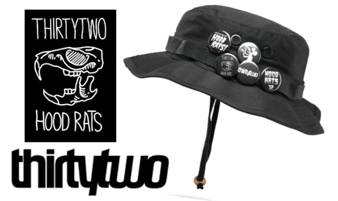 【THIRTY TWO】HOOD RATS BOONIE CAP