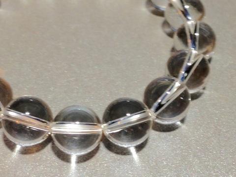 シンプル白水晶ブレス 10ミリ
