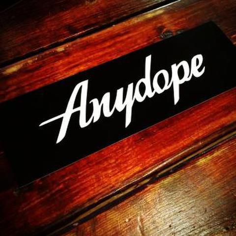Anydopeバンパーステッカー